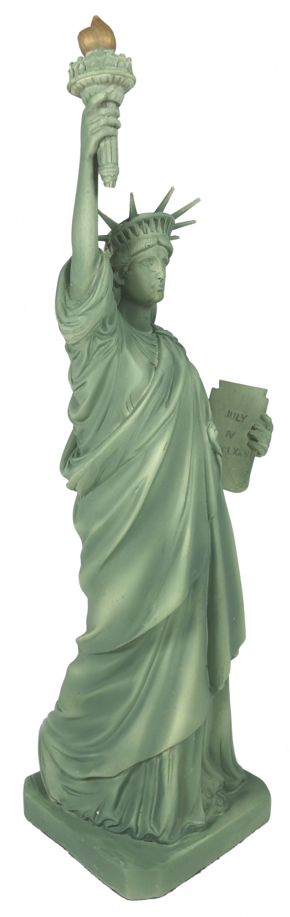 Figur Statue of Liberty Freiheitsstatue grün New York Dekoration 30 cm